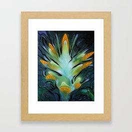 Shuttleflower Redux Framed Art Print