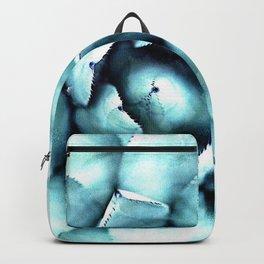 Succulent - A Watercolour Mandala Backpack