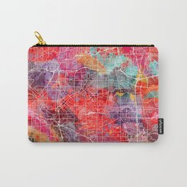 Parma map Ohio painting 2 Carry-All Pouch