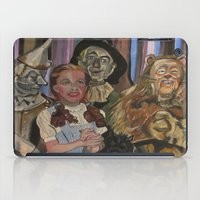 oz iPad Cases featuring OZ  by Robert E. Richards