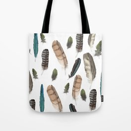 New Zealand Feathers Tote Bag