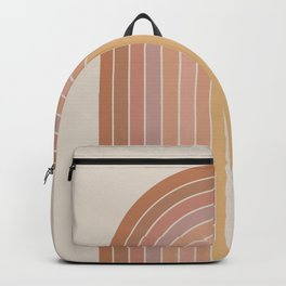 Gradient Arch - Natural Tones Backpack