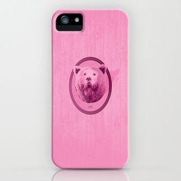 Hunting Series - The Pink Bear Head iPhone Case