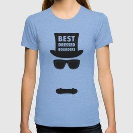 Best Dressed Boarders - Skateboarding T-shirt