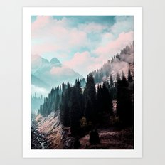 The Juxtaposed Creation #society6 #decor #buyart Art Print