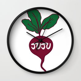 Juju on that Beet Wall Clock