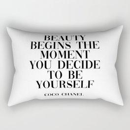 coco quote Rectangular Pillow