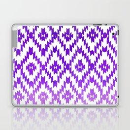ombre purple ikat Laptop & iPad Skin