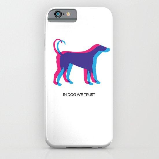 In Dog We Trust iPhone & iPod Case