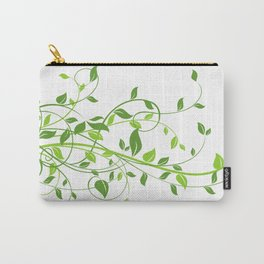Leaves PNG Carry-All Pouch