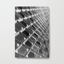 Architectural Metal Abstract Print Metal Print