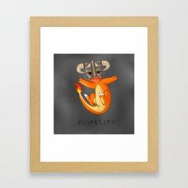 CHAR-MAN-DAAAAH!! Framed Art Print