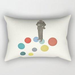 Bird Man Rectangular Pillow