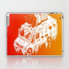 Melty Ice Cream Truck - sherbet Laptop & iPad Skin