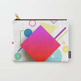 Displaced Geometry Carry-All Pouch