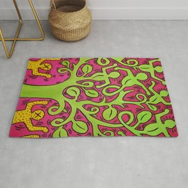 Copy of Tree of Life - Keith Haring Rug