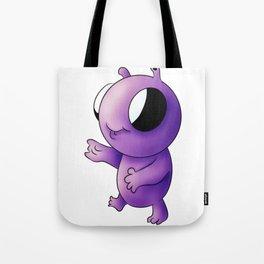 Baby alien Tote Bag