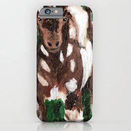 Kid with Spots iPhone Case