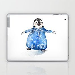 Baby Penguin in Onsie Laptop & iPad Skin