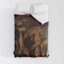 Franz von Stuck - Inferno - Digital Remastered Edition Comforters