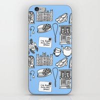 downton abbey iPhone & iPod Skins featuring Downton Abbey by Valerie Jauma