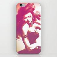 artgerm iPhone & iPod Skins featuring Pepper Dance by Artgerm™