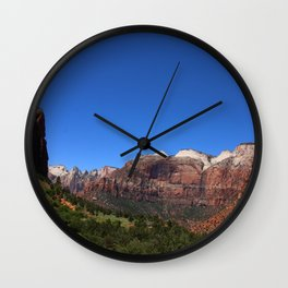 Zion Park View Wall Clock