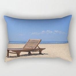 Wooden sunbed Rectangular Pillow