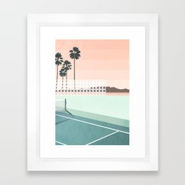 Palm Springs Framed Art Print