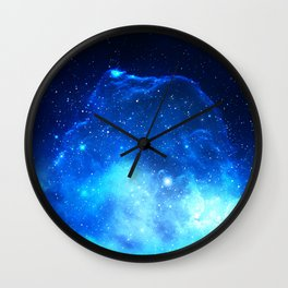 Jelly Nebula Wall Clock