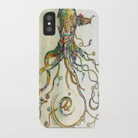 squid iPhone & iPod Cases featuring The Impossible Specimen by Will Santino