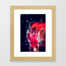 Urban Rebellion by GEN Z Framed Art Print