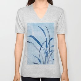 beach grass Unisex V-Neck