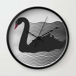 The Black Swan Wall Clock