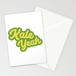 Kale Yeah Stationery Cards