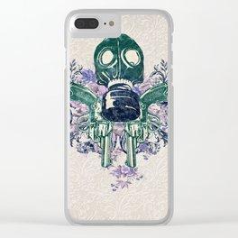 Post Apocalypse Punk Clear iPhone Case