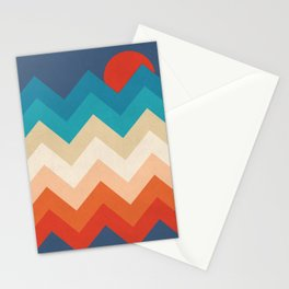 Vintage 70s Adventure on the Mountains Stationery Cards