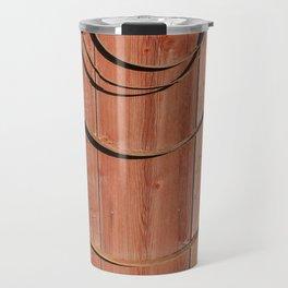 Coils on a barn Travel Mug