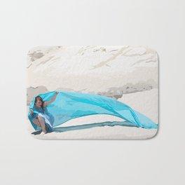 Breezy Blue Bath Mat