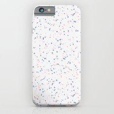 Speckles I: Rose Quartz & Serenity on Snow Slim Case iPhone 6s