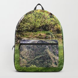 Earthy Mountain Stream // Hiking Bliss Incredible Views of the Beautiful Mountainscape Backpack