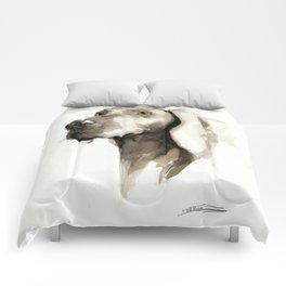 Dogportrait Weimaraner Comforters
