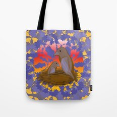 Birds of the Dawn Tote Bag