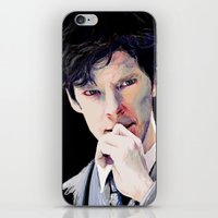 benedict iPhone & iPod Skins featuring Benedict Cumberbatch by Hash
