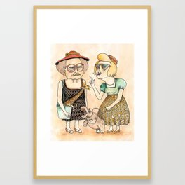 Ladies Framed Art Print