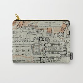 Vintage Map of The Roman Forum (1911) Carry-All Pouch