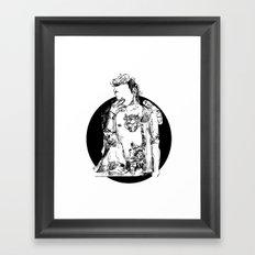 matty Framed Art Print