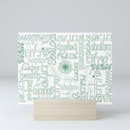 Shalom - Peace Mini Art Print
