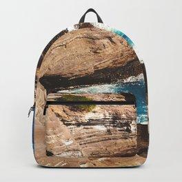 secret hideout in Hawaii Backpack