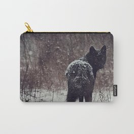 Snow Covered Carry-All Pouch